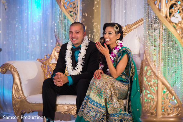 Reception in St. Louis, MO Indian Wedding by Samson Productions