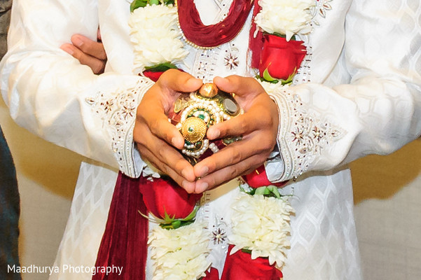 Baraat in Raleigh, NC Indian Wedding by Maadhurya Photography