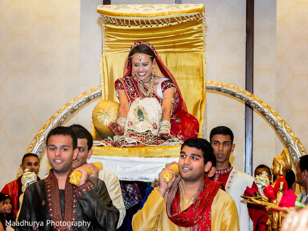 Ceremony in Raleigh, NC Indian Wedding by Maadhurya Photography
