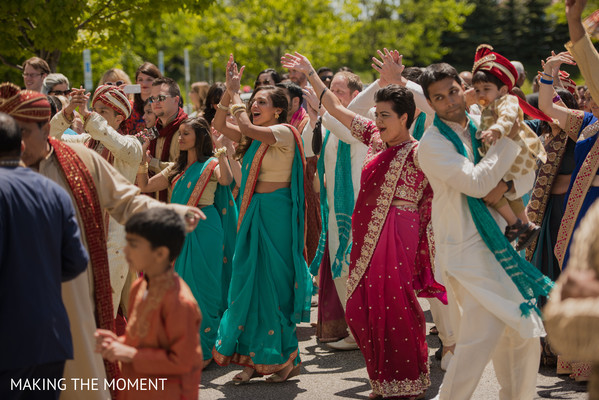 Baraat in Cleveland, OH Indian Wedding by Making the Moment