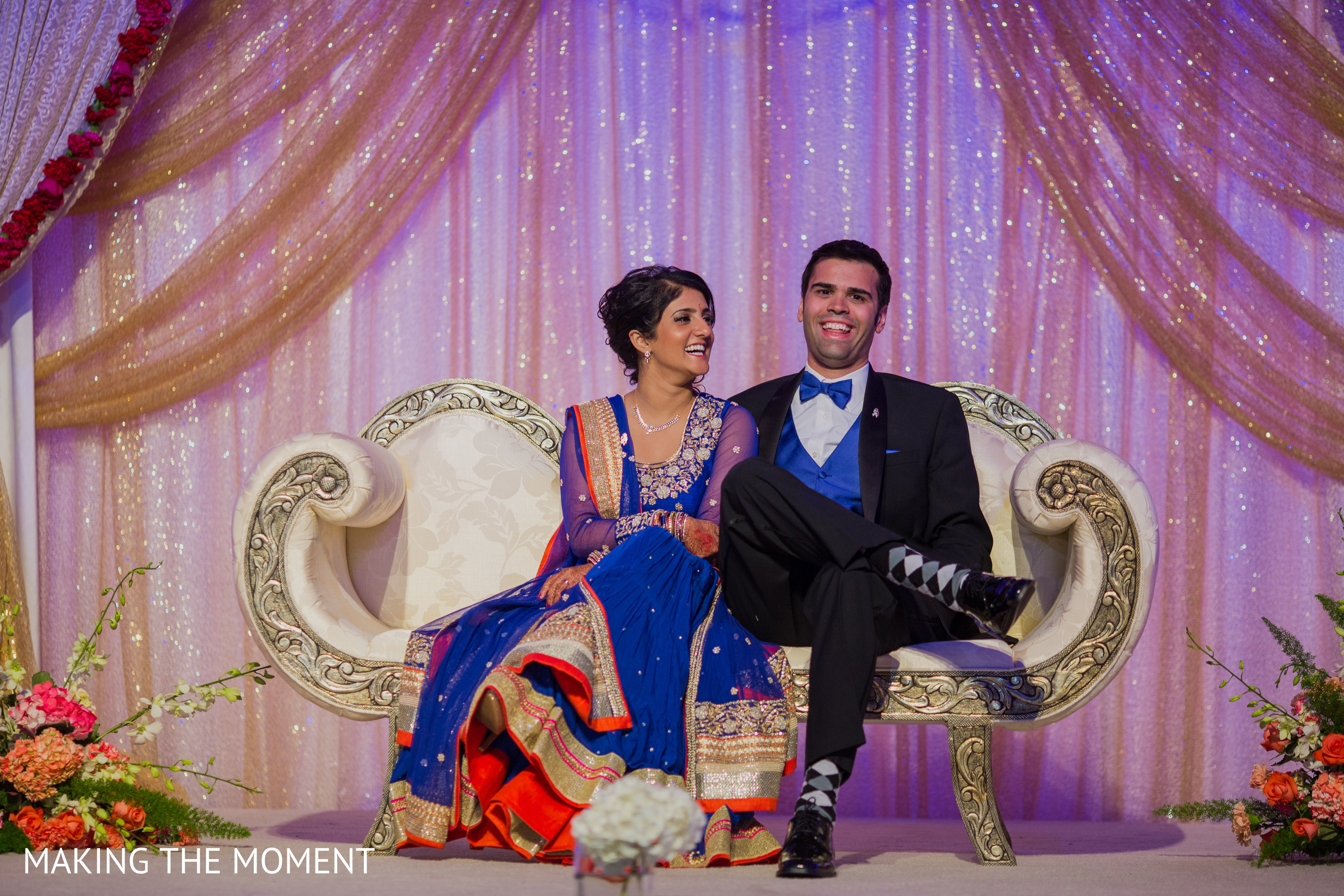 Reception in cleveland oh indian wedding by making the for Indian jewelry in schaumburg il