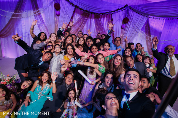 Reception in Cleveland, OH Indian Wedding by Making the Moment