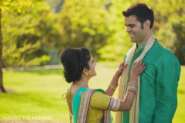 Pre-Wedding Portrait in Cleveland, OH Indian Wedding by Making the Moment