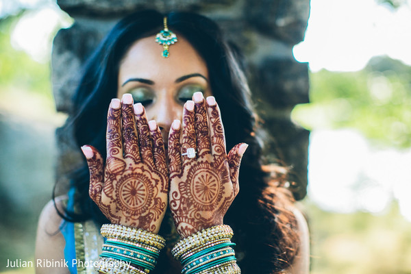 Mehndi in Greenwich, CT Indian Wedding by Julian Ribinik Photography