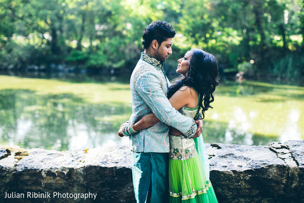 Pre-Wedding Portrait in Greenwich, CT Indian Wedding by Julian Ribinik Photography