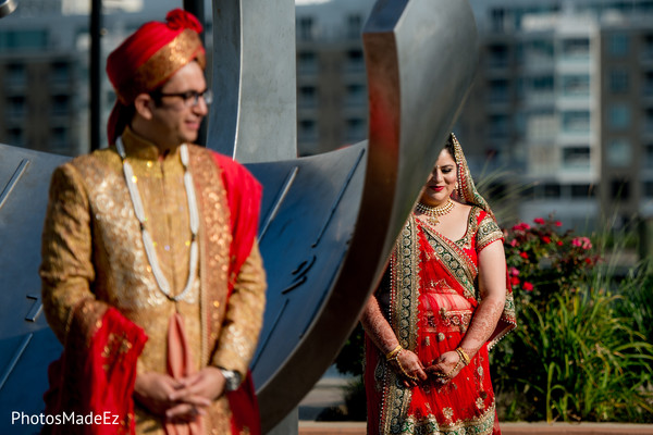 Ceremony Portraits in Jersey City, NJ Indian Wedding by PhotosMadeEz