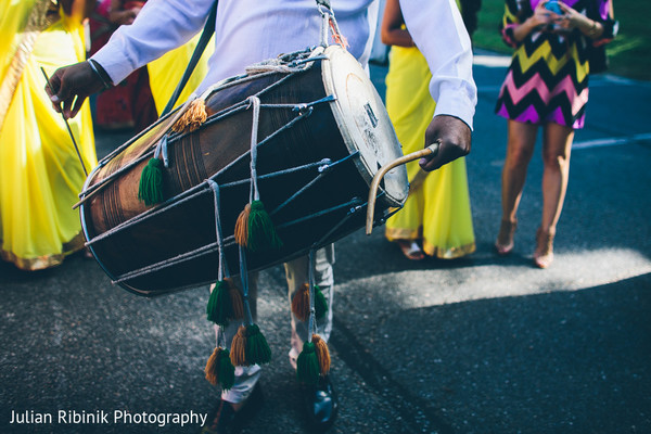 Baraat in Greenwich, CT Indian Wedding by Julian Ribinik Photography