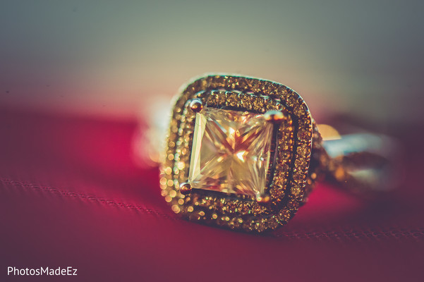 Wedding Ring in Jersey City, NJ Indian Wedding by PhotosMadeEz