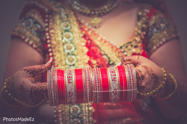 Churi in Jersey City, NJ Indian Wedding by PhotosMadeEz