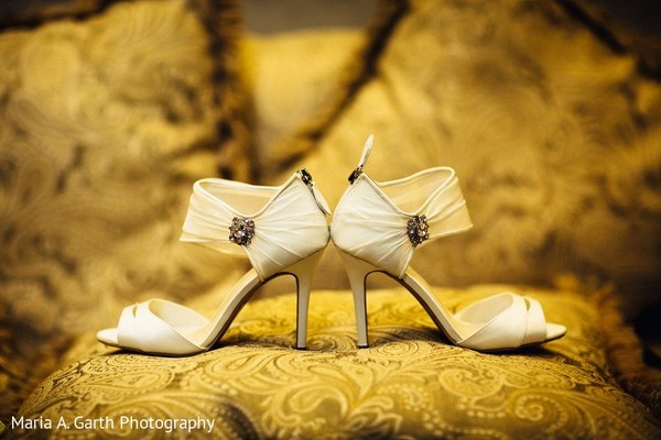 Shoes in Newark, DE South Asian Wedding by Maria A. Garth Photography