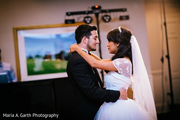 Reception in Newark, DE South Asian Wedding by Maria A. Garth Photography