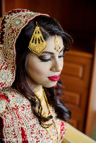 Hair & Makeup in Teaneck, NJ South Asian Wedding by Ieva Sireikyte Photography
