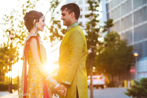 Pre-Wedding Portrait in Jersey City, NJ Indian Wedding by Lightyear Studio