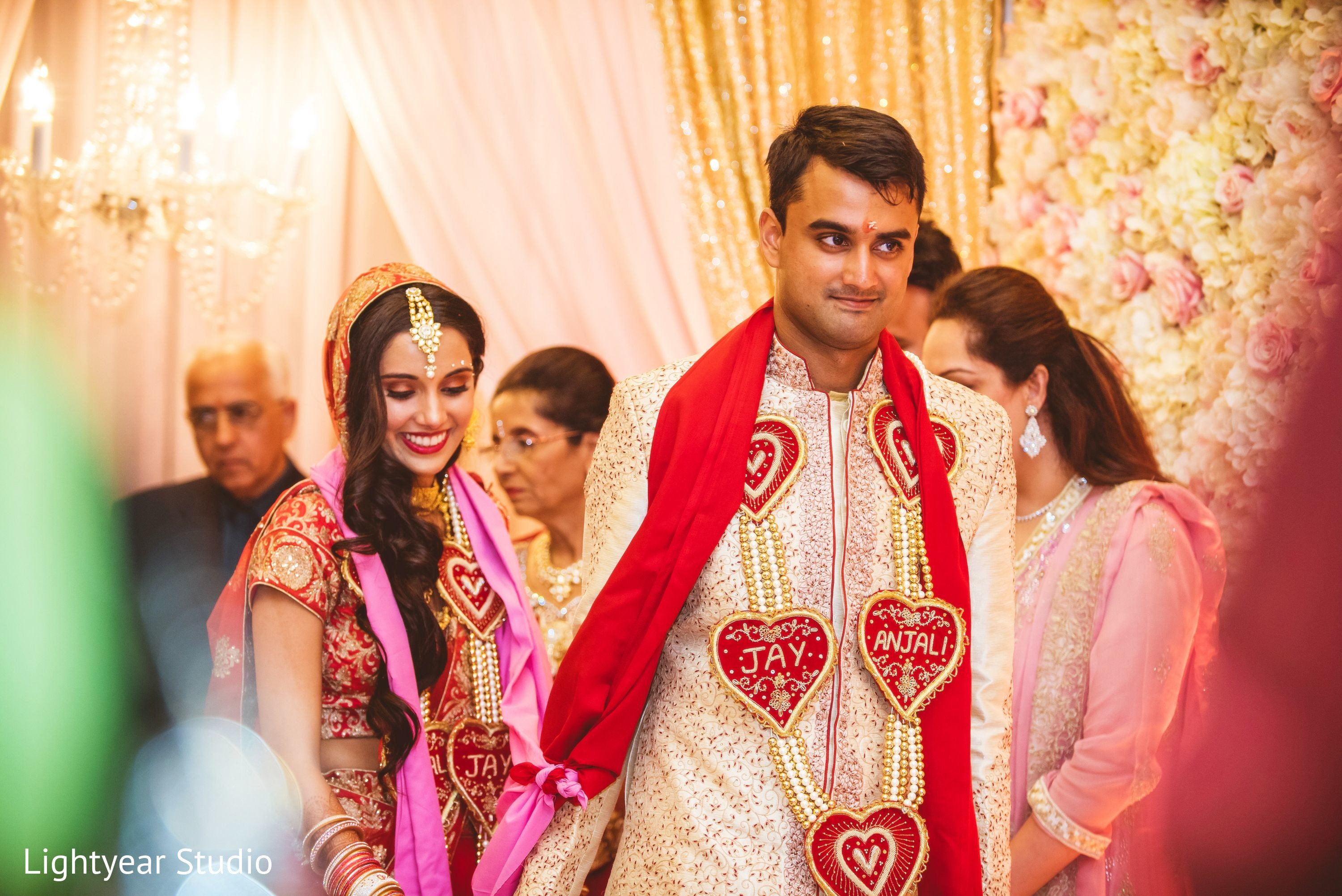 Ceremony In Jersey City NJ Indian Wedding By Lightyear Studio
