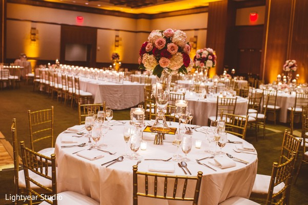 Floral & Decor in Jersey City, NJ Indian Wedding by Lightyear Studio