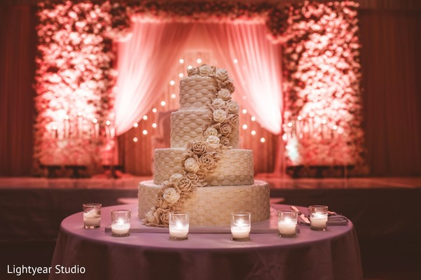 Cakes & Treats in Jersey City, NJ Indian Wedding by Lightyear Studio