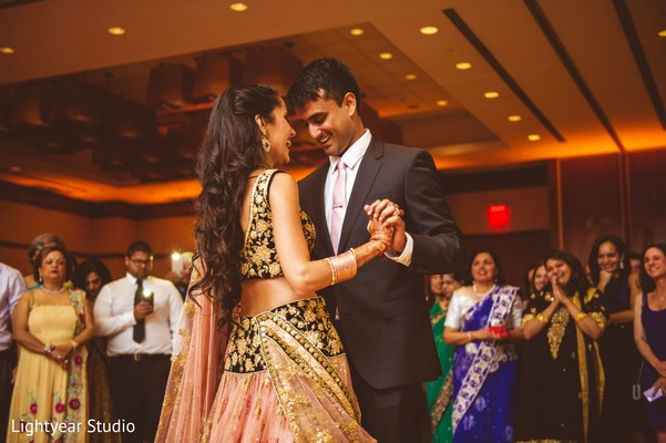 First Dance in Jersey City, NJ Indian Wedding by Lightyear Studio