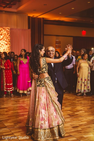 Reception in Jersey City, NJ Indian Wedding by Lightyear Studio