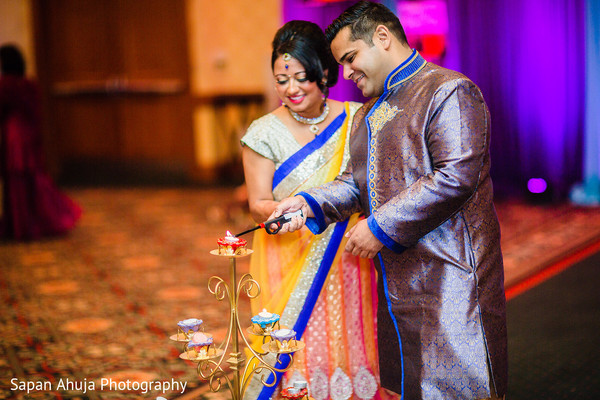 Pre-Wedding Celebration in Chicago, IL Indian Wedding by Sapan Ahuja Photography