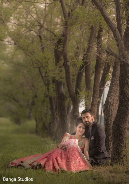 Pre-Wedding Portrait in Winnipeg, Canada Sikh Wedding by Banga Studios