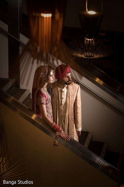 First Look in Winnipeg, Canada Sikh Wedding by Banga Studios