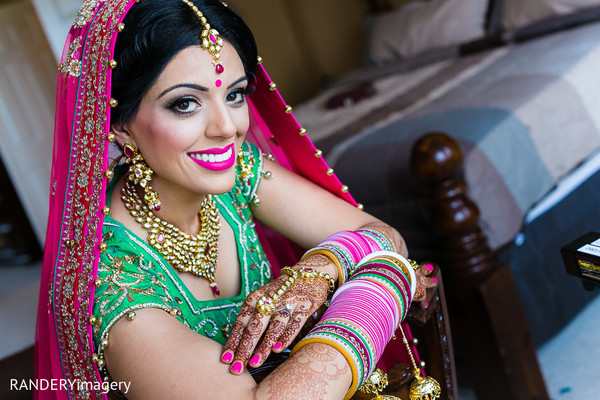 Bridal Portrait in Anaheim, CA Sikh Wedding by RANDERYimagery
