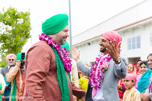 Milni in Anaheim, CA Sikh Wedding by RANDERYimagery