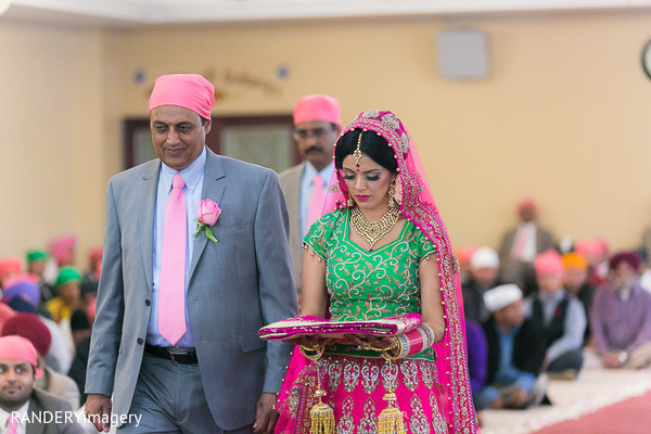 Ceremony in Anaheim, CA Sikh Wedding by RANDERYimagery