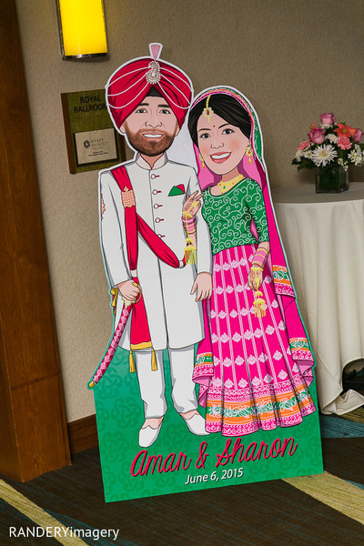 Floral & Decor in Anaheim, CA Sikh Wedding by RANDERYimagery
