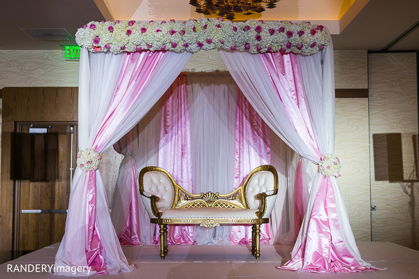 Sweetheart Stage in Anaheim, CA Sikh Wedding by RANDERYimagery