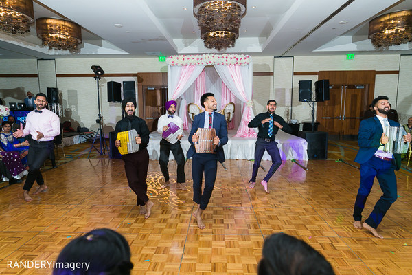 Reception in Anaheim, CA Sikh Wedding by RANDERYimagery