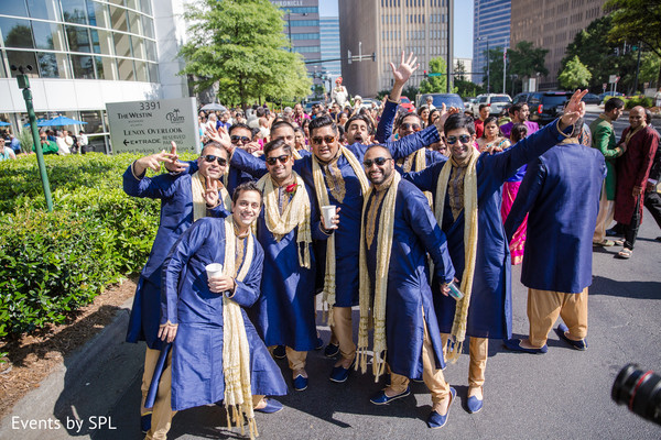 Groomsmen in Atlanta, GA  Indian Wedding by Events by SPL