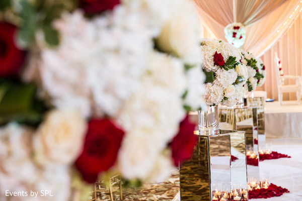 Floral & Decor in Atlanta, GA  Indian Wedding by Events by SPL