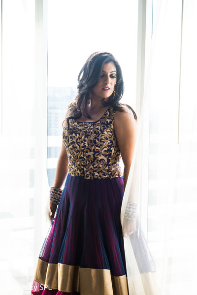 Bridal Fashion in Atlanta, GA  Indian Wedding by Events by SPL