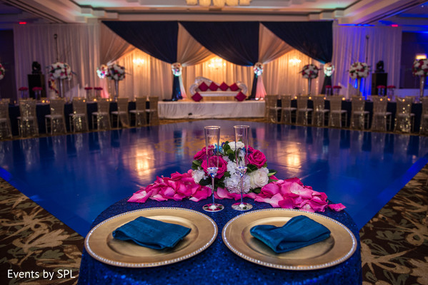Sweetheart Table in Atlanta, GA  Indian Wedding by Events by SPL
