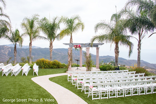 Venue in Malibu, CA Indian Fusion Wedding by George Street Photo & Video