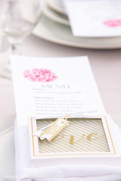 Stationery in Malibu, CA Indian Fusion Wedding by George Street Photo & Video