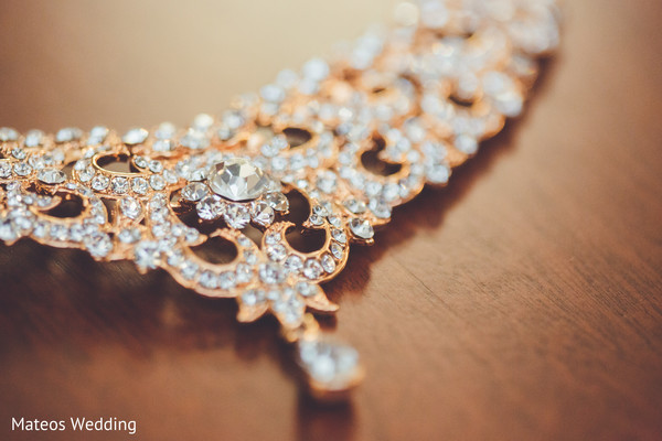 Bridal Jewelry in Chicago, IL Indian Wedding by Mateos Wedding