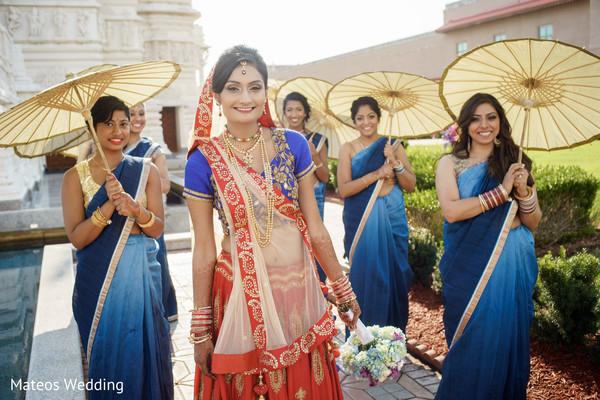 indian bridal party,indian wedding party,indian wedding party portraits,indian bridesmaids,indian sari