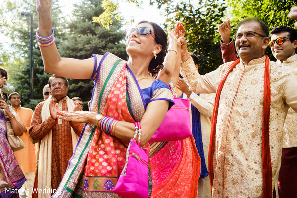 Baraat in Chicago, IL Indian Wedding by Mateos Wedding
