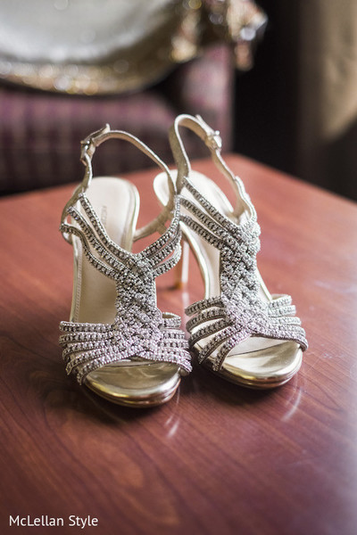 Shoes in Nashville, TN Indian Wedding by McLellan Style
