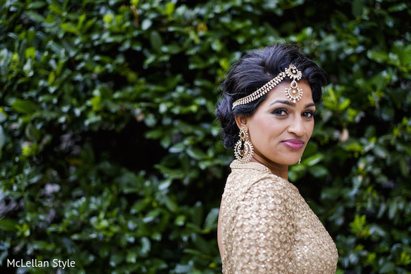 Reception Portrait in Nashville, TN Indian Wedding by McLellan Style