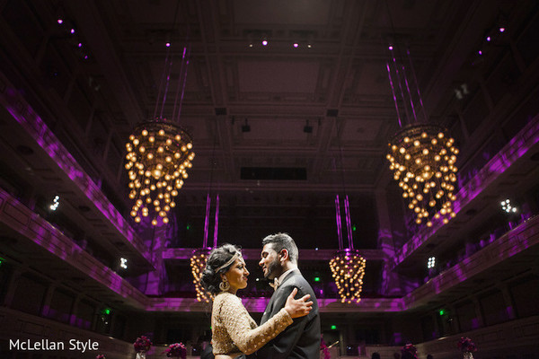 First Dance in Nashville, TN Indian Wedding by McLellan Style