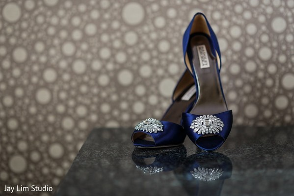 Shoes in Carle Place, NY Indian Wedding by Jay Lim Studio