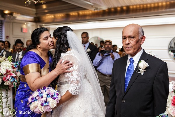 Ceremony in Carle Place, NY Indian Wedding by Jay Lim Studio