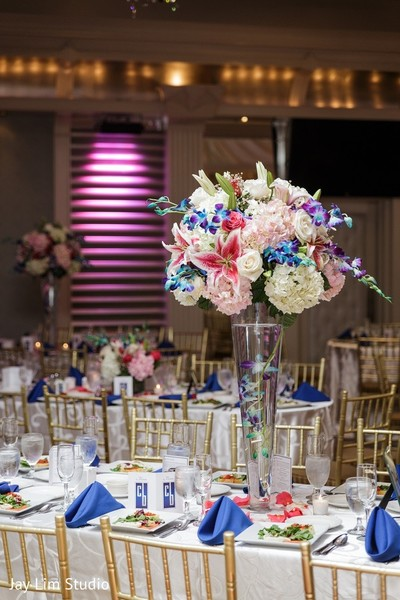Floral & Decor in Carle Place, NY Indian Wedding by Jay Lim Studio
