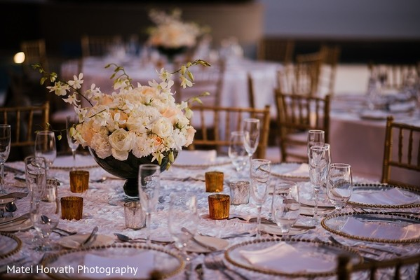 Floral & Decor in Cabo San Lucas, Mexico Indian Destination Wedding by Matei Horvath Photography