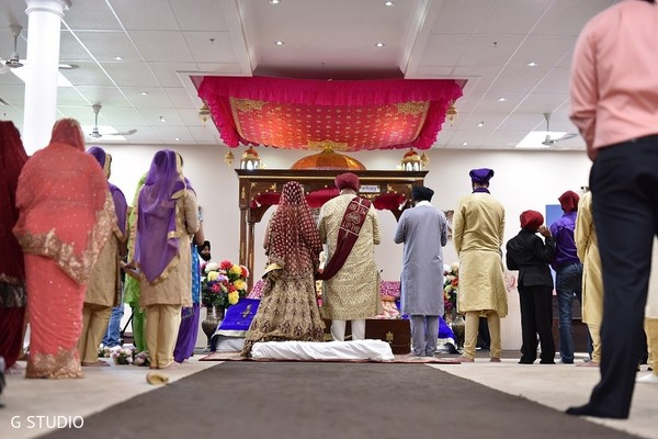 Ceremony in Toronto, Canada Sikh Wedding by G Studio