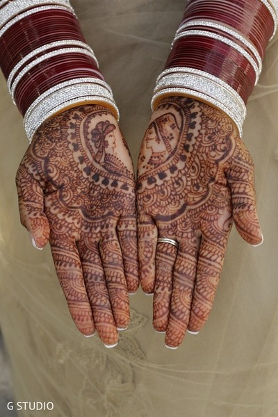 Mehndi in Toronto, Canada Sikh Wedding by G Studio