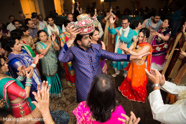 Sangeet in Cleveland, OH Indian Wedding by Making the Moment